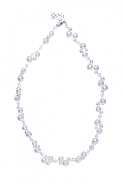Svatební perlový náhrdelník
