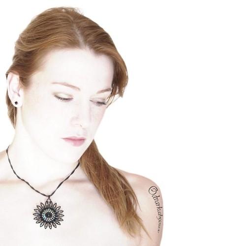 náhrdelník, černá