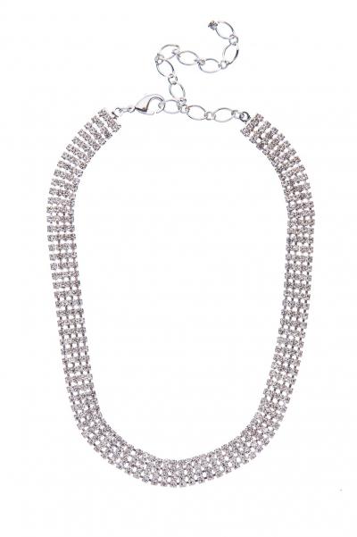 náhrdelník - obojek, stříbro