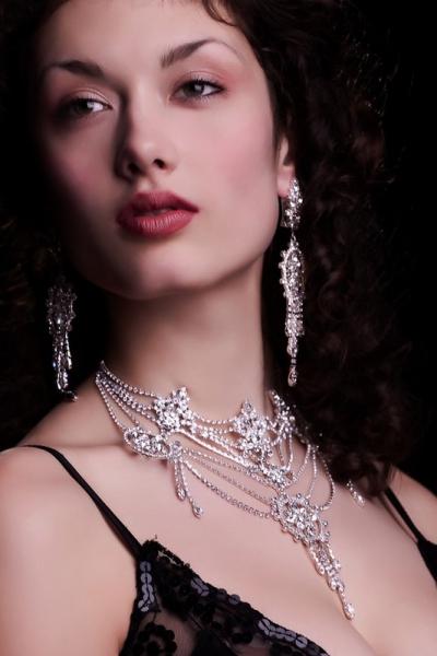masivní náhrdelník, stříbro
