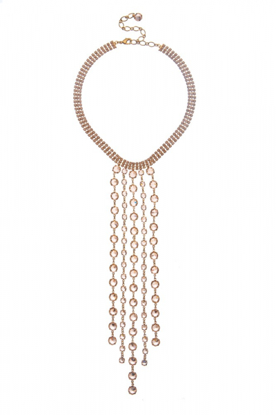Exclusive rhinestone necklace