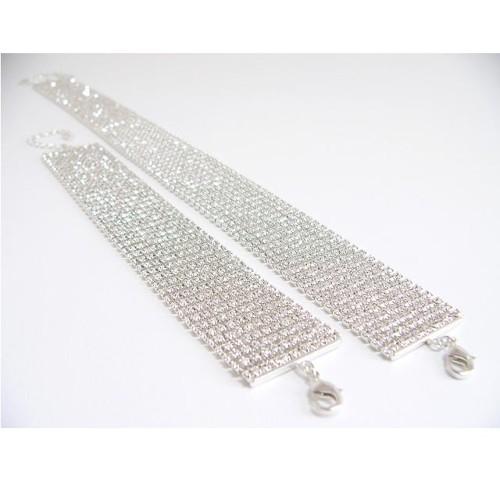 víceřadý náhrdelník, stříbro