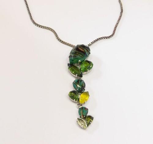 elegantní náhrdelník ve starostříbře