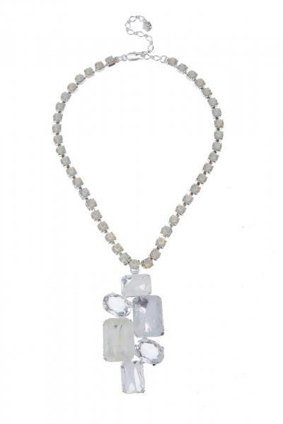 elegantní náhrdelník ve stříbře
