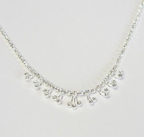 strass rhinestone necklace