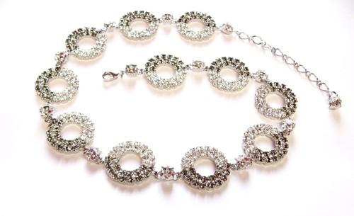 Exclusive necklace – rhodium