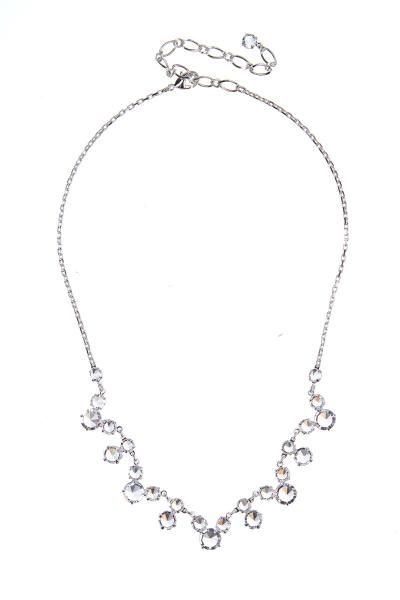 Elegantní šanelový náhrdelník na řetízku