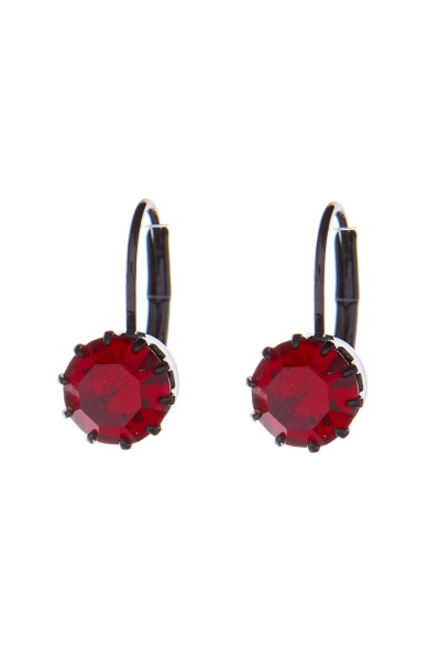 Small earrings, black