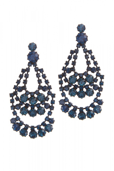 Elegant strass earrings