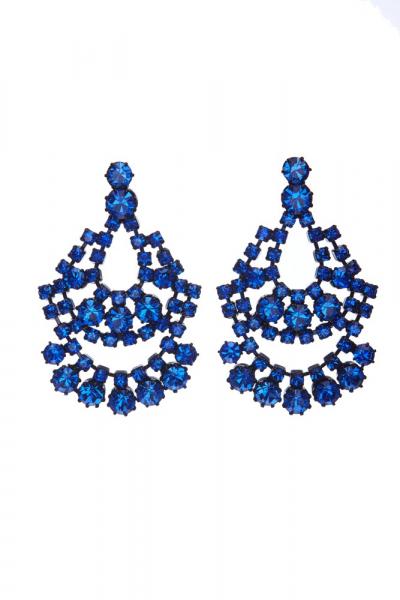 Elegant strass earrings
