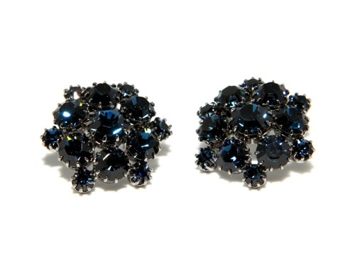 Exclusive earrings made from Swarovski rhinestones