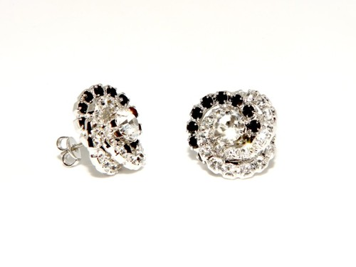 Strass earrings – pin