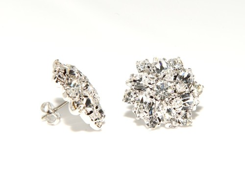 Strass earrings – pin