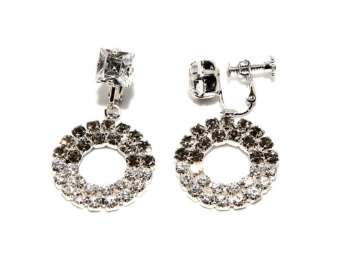 Exclusive strass earrings
