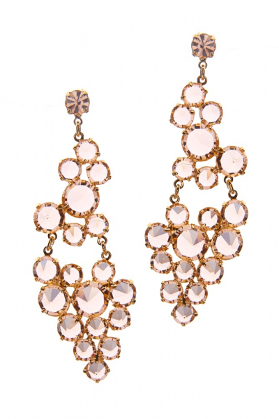 Exclusive earrings form Czech rhinestones