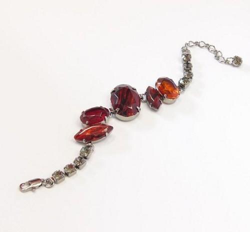 elegant bracelet, paladium plating