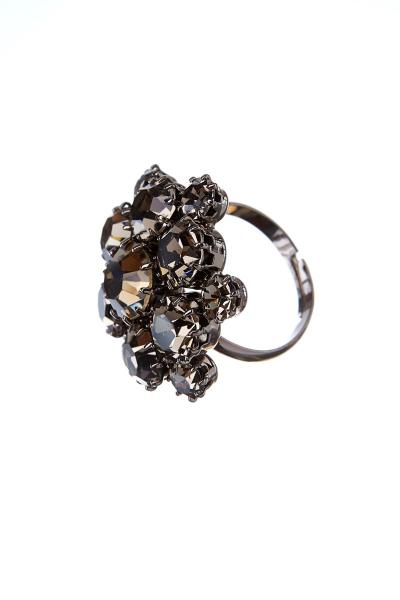 Exkluzivní prsten z českých broušených kamenů