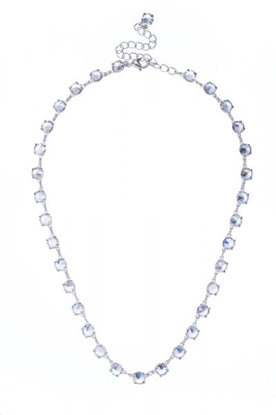 Elegant necklace from Czech rhinestones