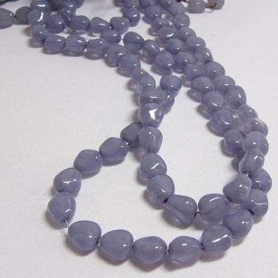 Czech glass beads - size 11 x 9 mm