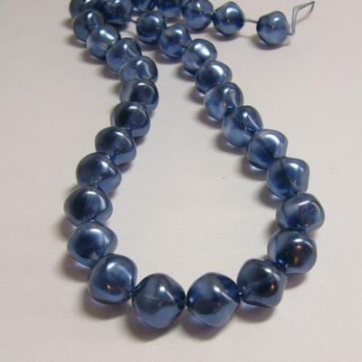 Czech glass beads - size 14 mm