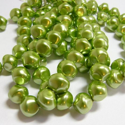 Czech glass beads - size 16 mm