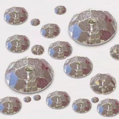 """píchané """"loch"""" mc růže - našívací kamínky, balení 144ks,  7mm"""