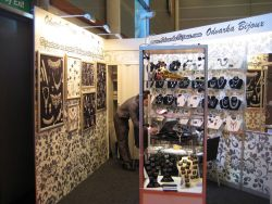 Odvarka bijoux selected as a trend maker in Paris - Bijorhca fashion show.