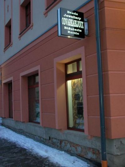 New wholesale and showroom of fashion jewellery and beads in Liberec.