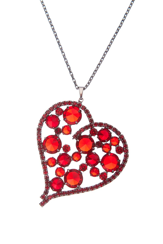 exklusivní náhrdelník, siam / paladium