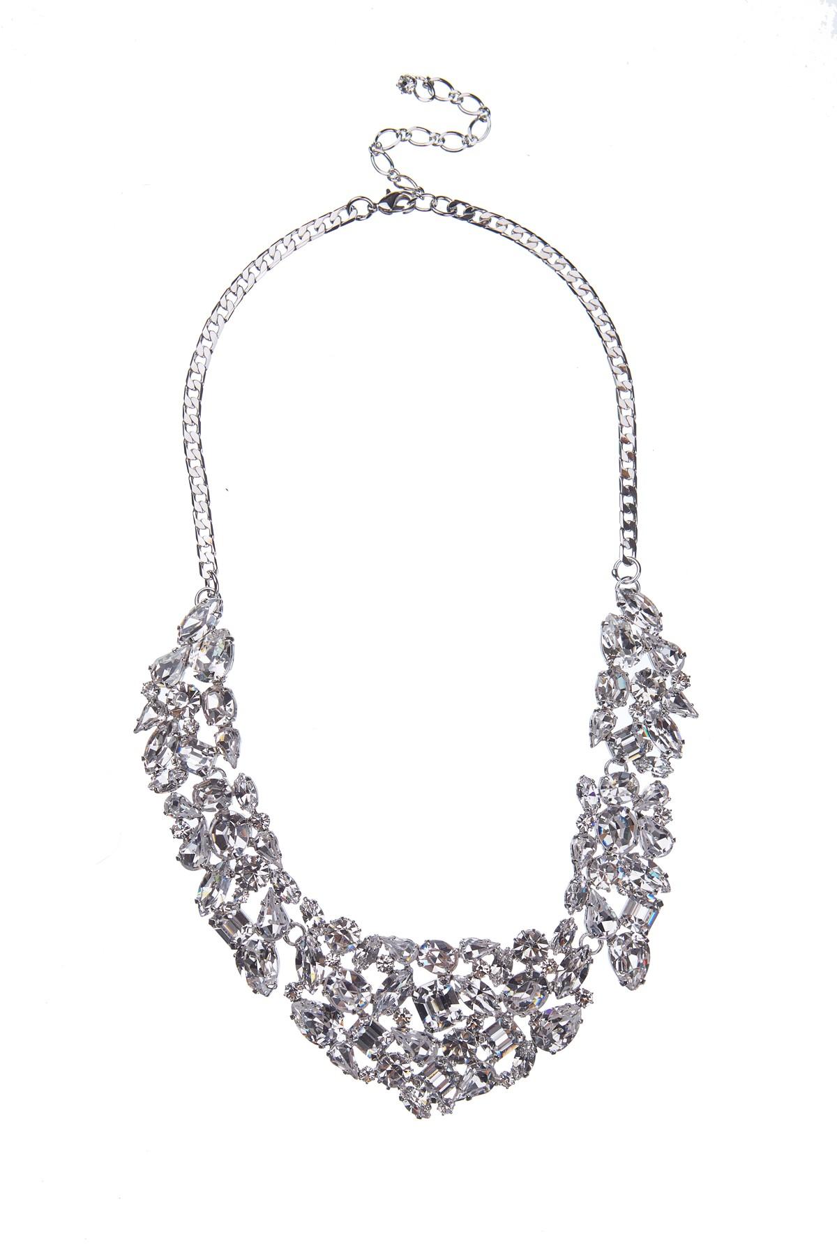 Luxusní náhrdelník z českých broušených kamenů