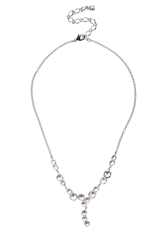 Jemný krystalový náhrdelník