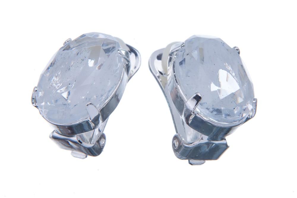 Náušnice se speciálním kamenem, krystal žíhaný opálem