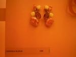 """do oranžového koutku byly vybrány výrazné náušnice z originální designové kolekce """"Magma"""""""
